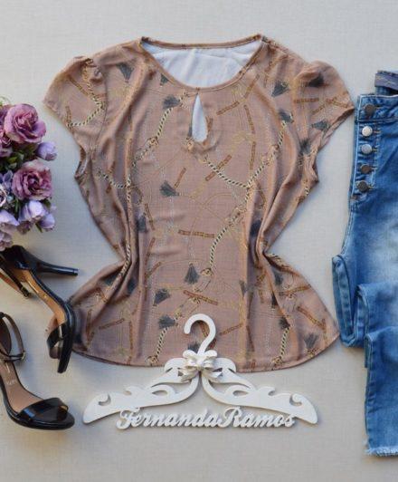 68cf98ccfd Encontre Blusa hapuk em malha canelada rose moda