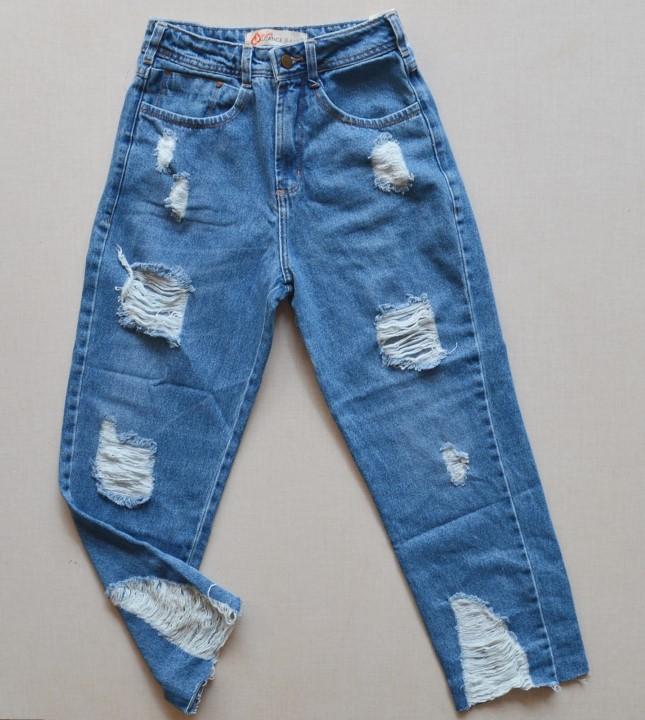 fernandaramosstore calca jeans cropped