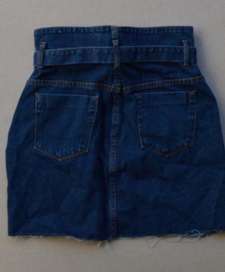 fernandaramosstore saia jeans com ziper e cinto 3