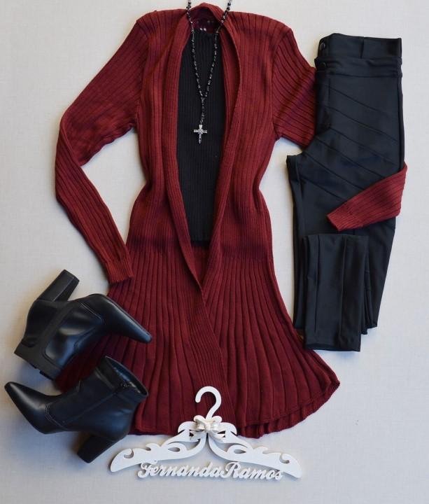 fernandaramosstore casaco alongado tricot 2