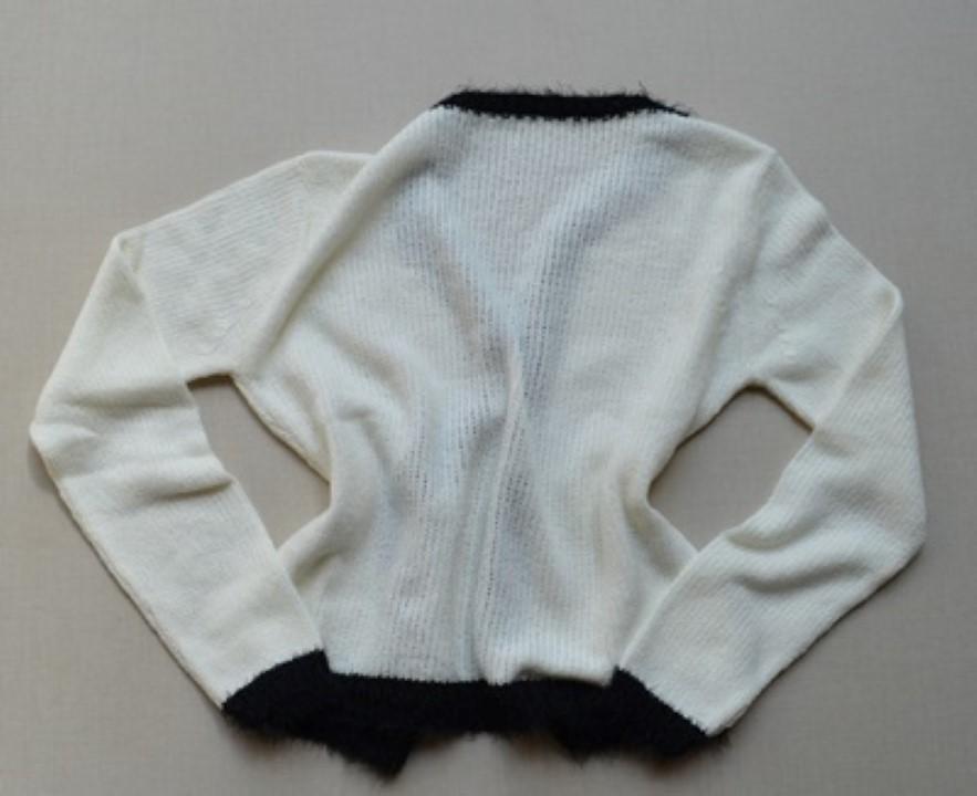 fernandaramosstore casaco manga longa tricot 34