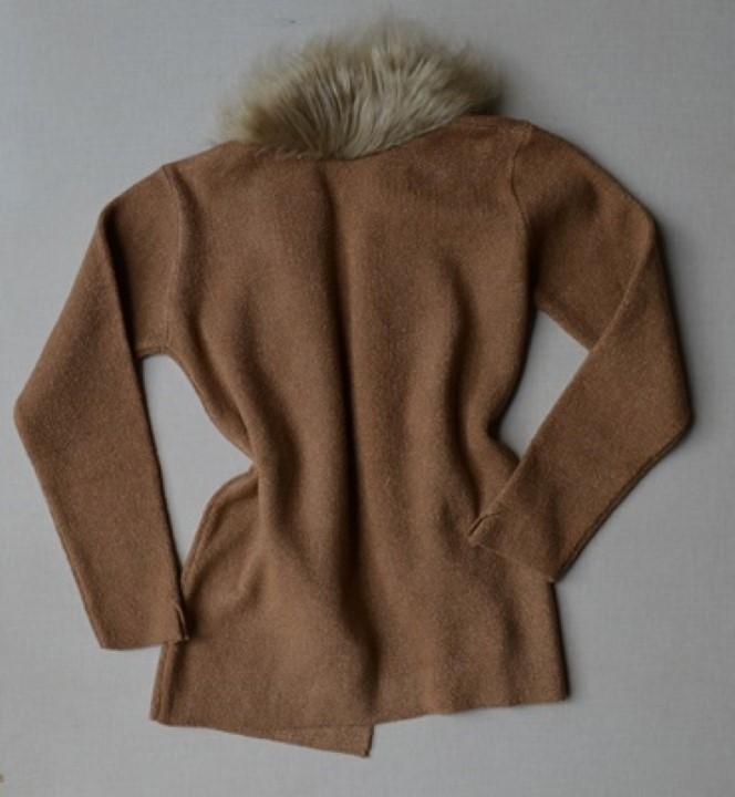 fernandaramosstore casaco manga longa tricot 36