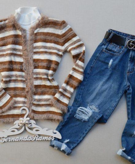 fernandaramosstore casaco manga longa tricot copia