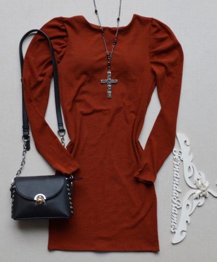 fernandaramosstore vestido canelado manga longa 5