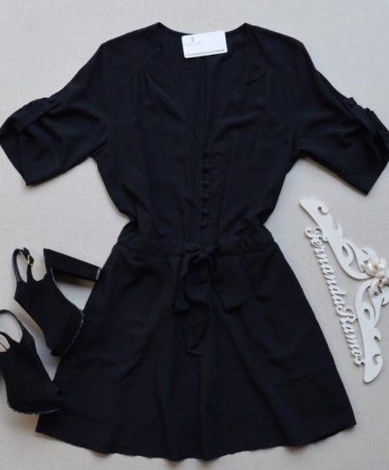 fernandaramosstore vestido com botoes e amarracao