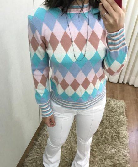 fernandaramosstore blusa manga longa tricot 40