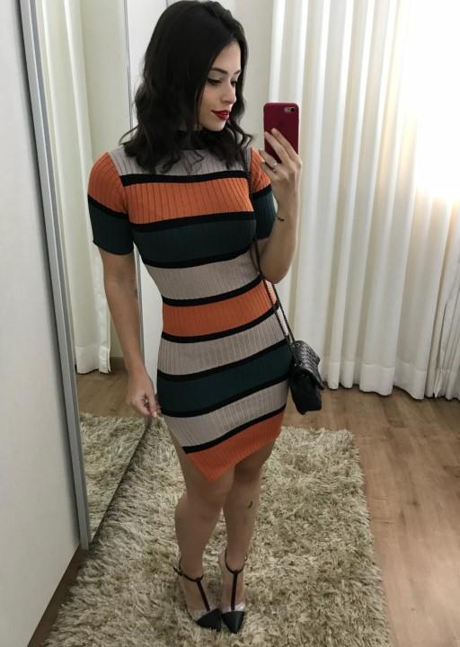 fernandaramosstore vestido manga curta tricot 3
