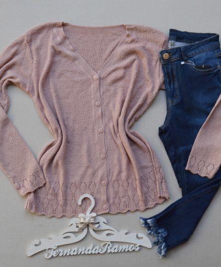 fernandaramosstore casaco manga longa tricot 1