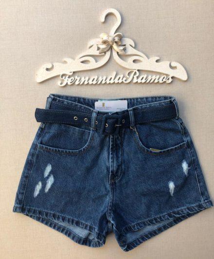 fernandaramosstore short jeans mom com cinto 3