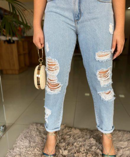 fernandaramosstore calca jeans mom detonada