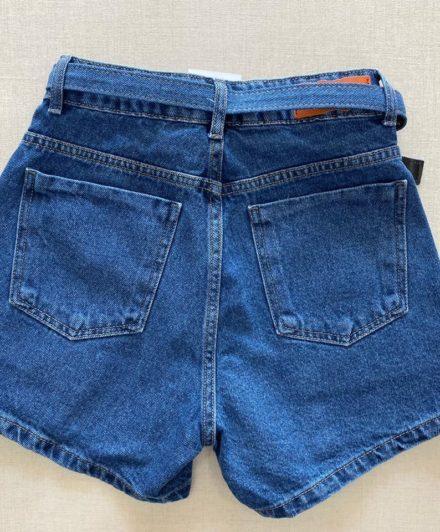 fernandaramosstore short jeans com cinto e botoes encapados 1