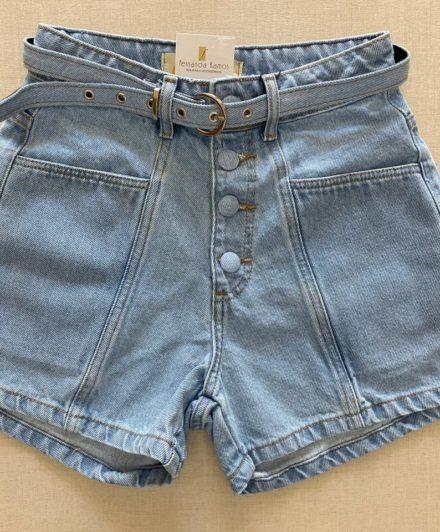 fernandaramosstore short jeans com cinto e botoes encapados 2